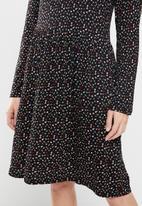 Jacqueline de Yong - Hailey dot dress - multi