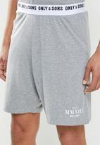 Only & Sons - Anton lounge set mmxii - grey