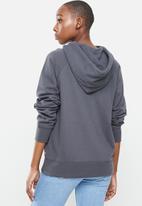 Levi's® - Graphic sport hoodie hoodie t3 90's serif - navy grey