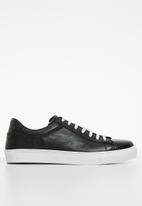 Superbalist - Jurgen leather sneaker - black