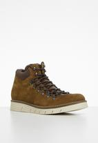 Jack & Jones - Jfwcolumbus boot - tobacco