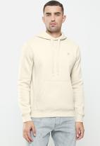 G-Star RAW - Premium core hooded long sleeve sweat - whitebait