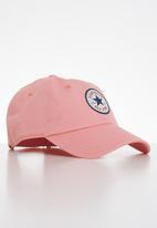 Converse - Chuck Taylor patch baseball hat - pink