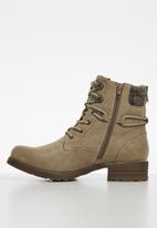 Miss Black - Jag 2 hiking boot - beige