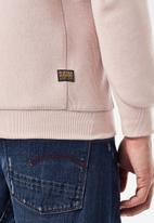 G-Star RAW - Premium core r long sleeve sweat - pink