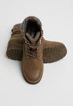 Miss Black - Jag 2 hiking boot - tan