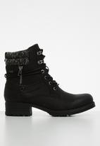Miss Black - Jag 2 hiking boot - black