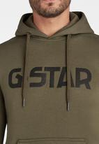 G-Star RAW - G-star hdd long sleeve sweat - green
