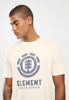 Element - Leopard tree tee - neutral