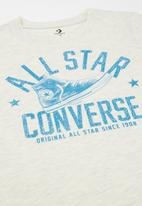 Converse - Converse boys collegiate shoe tee - neutral