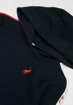 POLO - Girls lucy cut & sew hooded sweater - multi