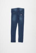 GUESS - Girls guess skinny jeans - blue wash
