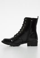 Madison® - Pat combat boot - black