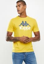 KAPPA - Authentic estessi slim tee - yellow