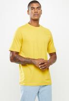 KAPPA - Logo chest tee - yellow