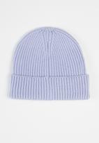 The North Face - Tnf logo box cuffed beanie - sweet lavender