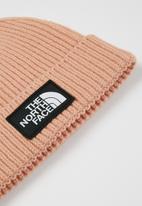 The North Face - Tnf logo box cuffed beanie - pink