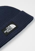 The North Face - Tnf logo box cuffed beanie - navy