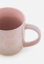 Cotton On - All day mug - pink shell
