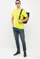 The North Face - Short sleeve never stop exploring tee - green