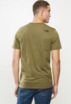The North Face - Short sleeve easy tee - khaki