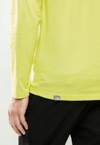 The North Face - Long sleeve easy tee - sulphur spring green