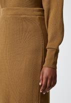 Superbalist - Bodycon skirt - tan