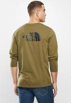 The North Face - Long sleeve easy tee - olive
