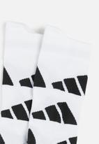 adidas Performance - Aop a.r. crew socks - white