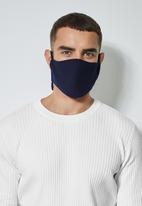 Superbalist - 3 pack face masks - navy