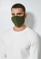 Superbalist - 3 pack face masks - olive