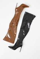 Steve Madden - Vava over the knee boot - brown
