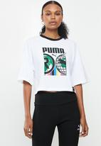 PUMA - Pi graphic tee - white