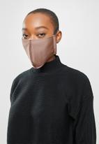 Superbalist - 3 Pack face masks - taupe