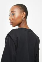 Jacqueline de Yong - Lenka ivy life long sleeve shoulder sweat - black
