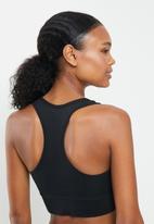 Reebok - Bralette mid impact bra - black