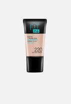 Maybelline - Fit Me® Matte + Poreless Foundation Mini - 220 Natural Beige