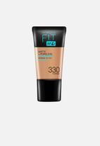 Maybelline - Fit Me® Matte + Poreless Foundation Mini - 330 Toffee