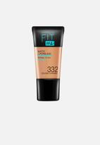 Maybelline - Fit Me® Matte + Poreless Foundation Mini - 332 Golden Caramel