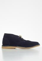 Grasshoppers - Gina suede - navy