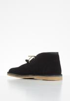 Grasshoppers - Gina suede - black