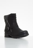 Miss Black - Jag hiking boot - black