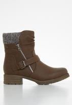 Miss Black - Jag hiking boot - brown