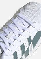 adidas Originals - Superstar - ftwr white/hazy emerald/ftwr white