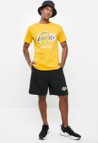 NBA - Laker basketball retro shorts - black