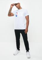 NBA - Straight hem printed T-shirt - grey