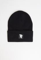 Tom Tom - Tt logo beanie - black