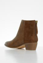 Butterfly Feet - Saddle ankle boot - tan