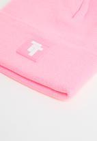 Tom Tom - Tt logo beanie - pink