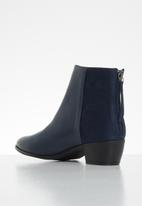 Butterfly Feet - Saddle ankle boot - navy